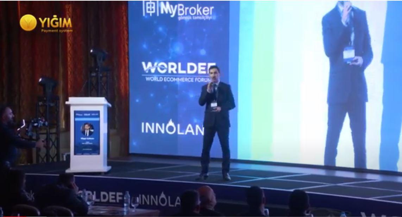 2019.11.27 World E-commerce Eurasia 2019 - Nağddan Nağdsıza - Vugar Jafarov
